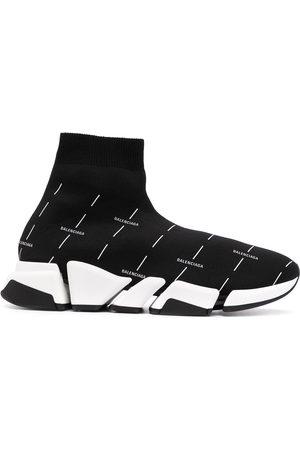 Balenciaga Men Sneakers - Logo-print Speed 2.0 Light Recycled sneakers