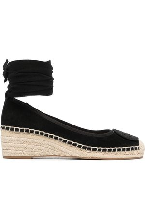 Tory Burch Women Espadrilles - Minnie wrap-ankle espadrilles