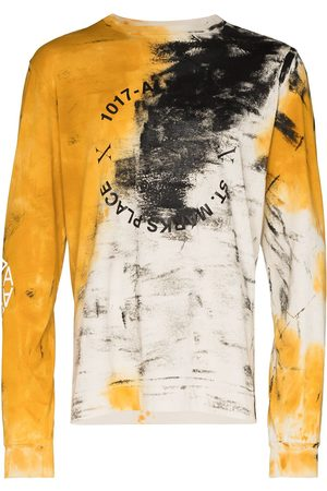 1017 ALYX 9SM Address abstract-print long-sleeve T-shirt