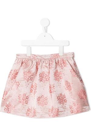 HUCKLEBONES LONDON Floral-print skirt
