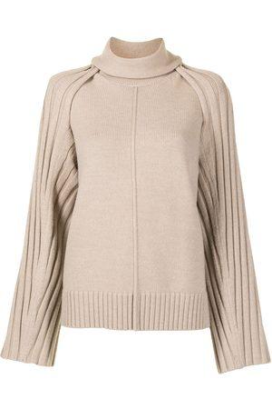 Peter Do Women Tops - Detachable-shoulder knitted top