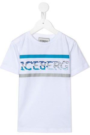 Iceberg Boys T-shirts - Pixelated logo T-shirt