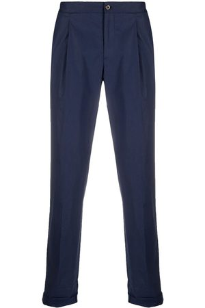 PT01 Straight-leg turn-up trousers