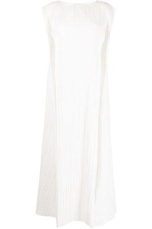 Bambah Women Sleeveless Dresses - Plissé-effect sleeveless dress