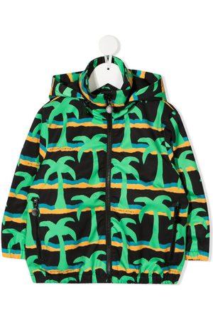 Stella McCartney Palm tree-print jacket