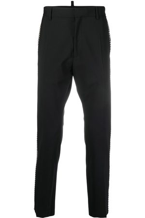 Dsquared2 Stud-embellished slim-leg trousers