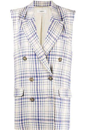 Isabel Marant Women Blazers - Ipegie sleeveless blazer - Neutrals
