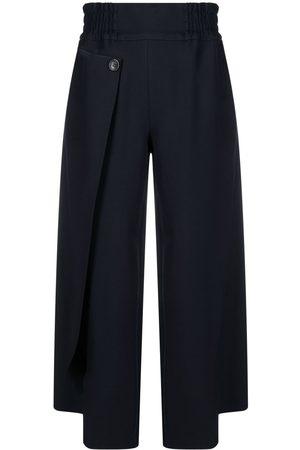 stagni 47 Cropped wrap-leg trousers