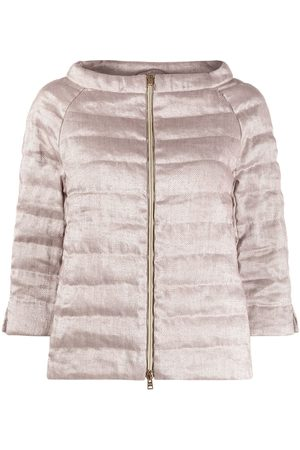 HERNO Women Puffer Jackets - Three-quarter sleeves padded jacket