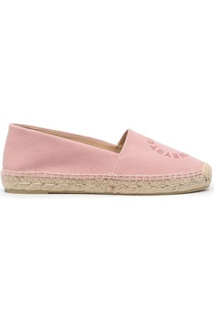 Stella McCartney Women Espadrilles - Logo-embroidered espadrilles