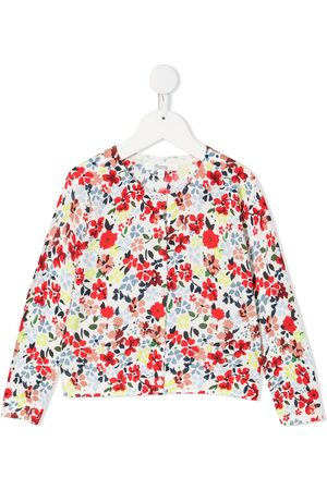 BONPOINT Floral-print buttoned cardigan