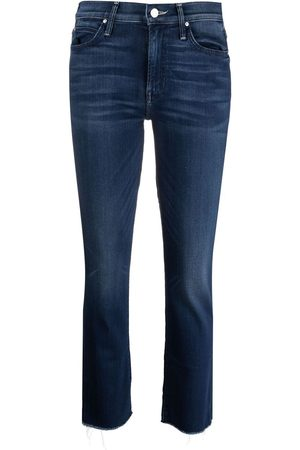 Mother Cropped-leg jeans