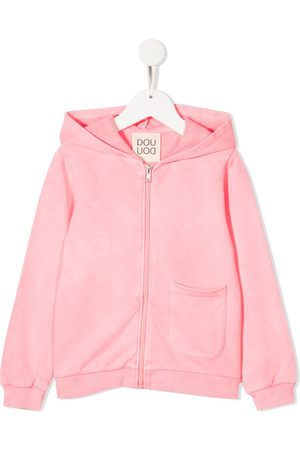 DOUUOD KIDS Cotton zip-up hoodie