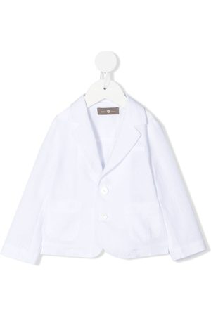 LITTLE BEAR Chenille-texture notched-lapels blazer