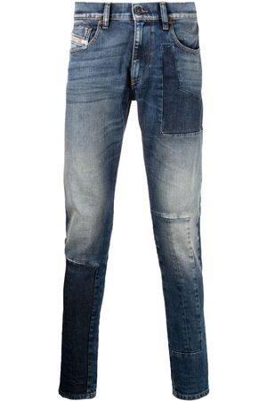 Diesel D-Strukt bleach-effect jeans