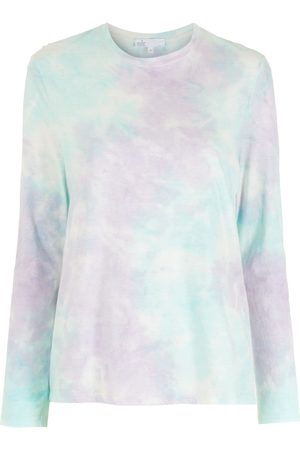 NK Embroidery tie-dye T-shirt - Multicolour