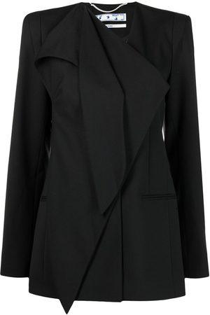 OFF-WHITE Draped single-breasted jacket