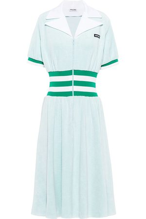 Miu Miu Terry jersey dress