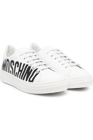 Moschino Sneakers - Logo-print low-top sneakers