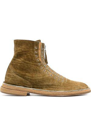 Premiata Eyelet-embellishment ankle boots