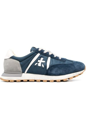 Premiata Men Sneakers - Lace-up suede trainers