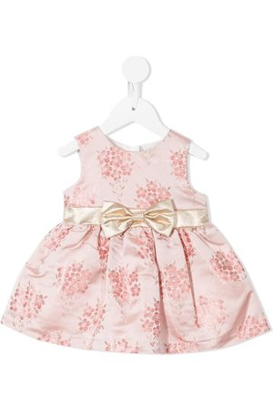 HUCKLEBONES LONDON Baby Printed Dresses - Floral embroidered dress