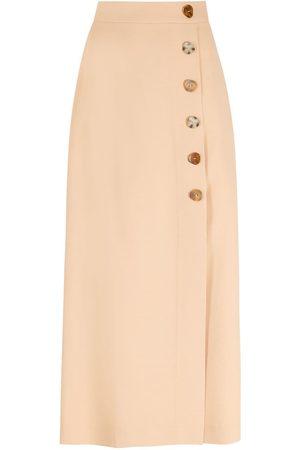 NK Button midi skirt - Neutrals
