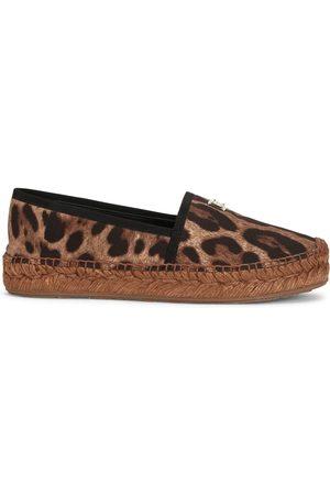 Dolce & Gabbana Leopard-print espadrilles