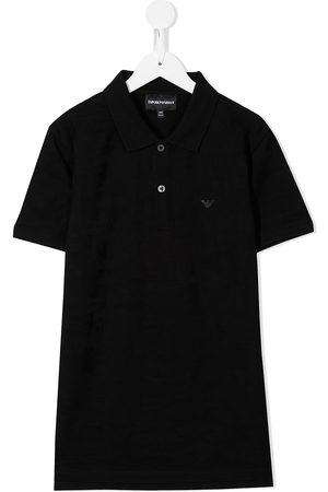 Emporio Armani TEEN logo polo shirt