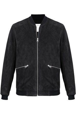 Sandro Men Leather Jackets - New Monaco leather jacket