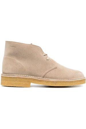 Clarks Men Lace-up Boots - Classic desert boots - Neutrals