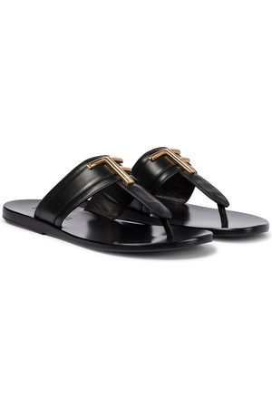 Tom Ford Brighton leather thong sandals