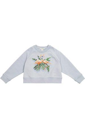 Stella McCartney Printed organic cotton sweatshirt