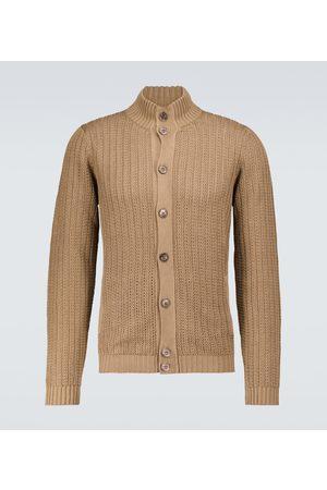 ZANONE Linen and cotton cardigan