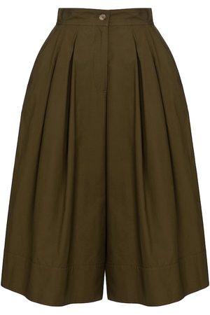Moncler Genius Women Wide Leg Pants - 1 MONCLER JW ANDERSON cotton culottes