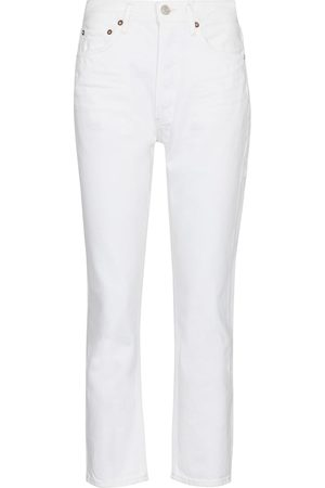 AGOLDE Riley high-rise straight jeans