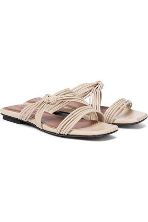 Souliers Martinez Women Sandals - Malaga leather slides
