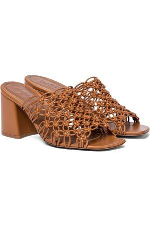 Souliers Martinez Lana 75 leather sandals
