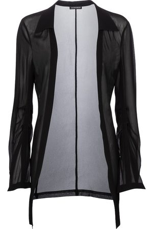 ANN DEMEULEMEESTER Women Sheer jacket