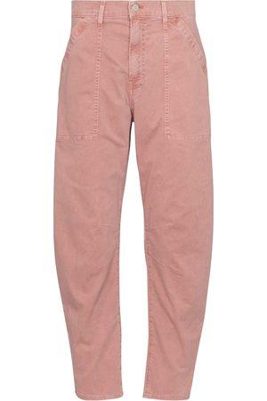 VERONICA BEARD Women Straight Leg Pants - Charlie high-rise cropped pants