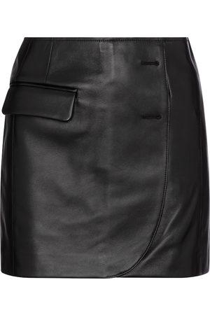 Vetements Leather miniskirt