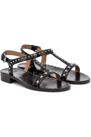 Church's Elly Met embellished leather sandals