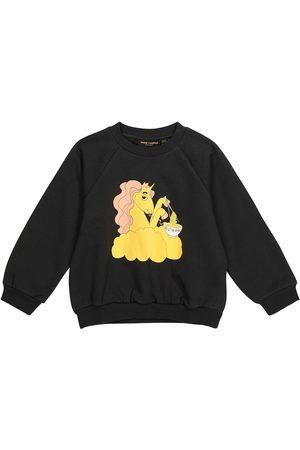 Mini Rodini Unicorn Noodles cotton sweatshirt
