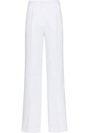 Max Mara Uva high-rise straight linen pants