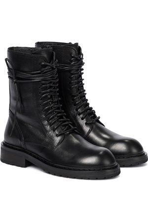 ANN DEMEULEMEESTER Women Ankle Boots - Leather combat boots