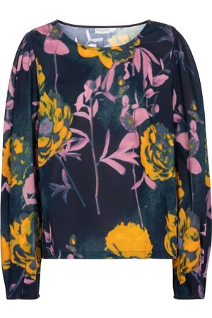 DRIES VAN NOTEN Floral cotton blouse