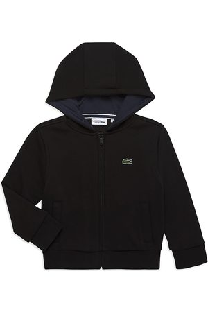 Lacoste Boys Hoodies - Toddler's, Little Boy's & Boy's Sport Hoodie - Navy - Size 12