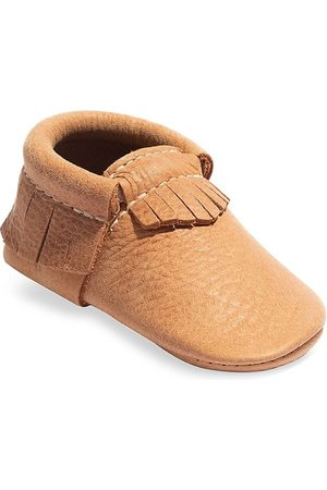 Freshly Picked Loafers - Baby's Zion Classic Leather Moccasins - - Size 3 (Baby)