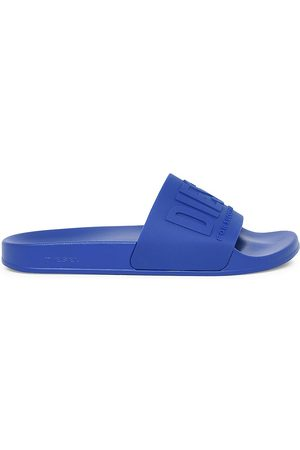 Diesel Men Sandals - Men's Mayemi Logo Slide Sandals - - Size 12.5