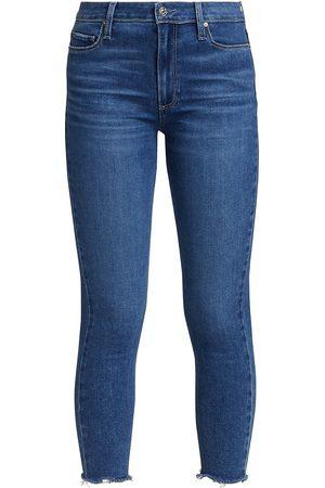 Paige Women Skinny - Women's Hoxton Crop Skinny Jeans - Bay - Size 32